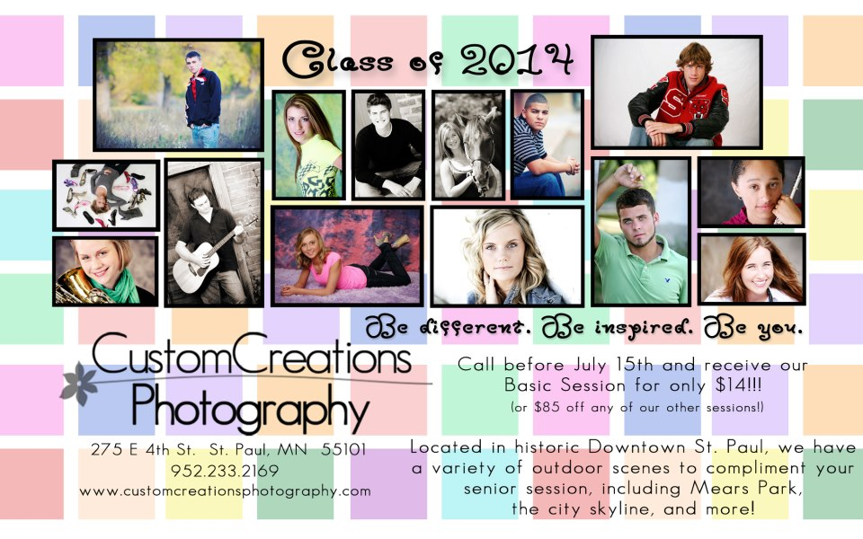 saint paul senior photographer