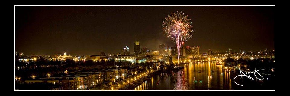 st paul saint paul fireworks skyline