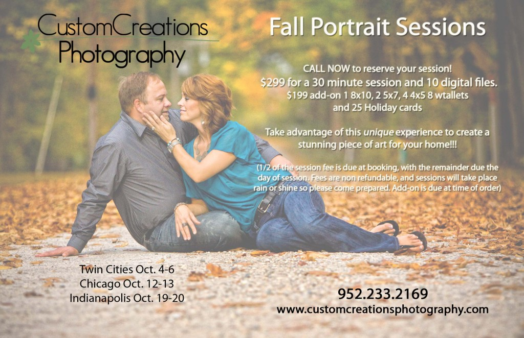 fall portrait sessions twin cities saint paul minneapolis chicago indianapolis